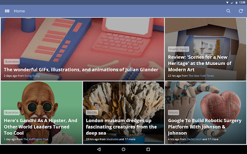 News360: Personalized News Screenshot