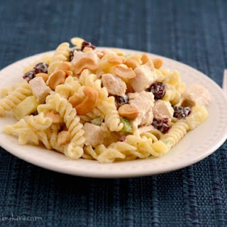 Cashew Pasta Chicken Salad