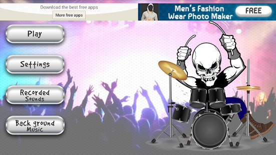 Rock Drums - Classic Band Game - screenshot