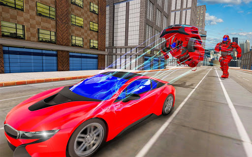Flying Car Robot Transformation Game For PC