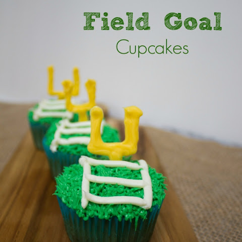 Field Goal Football Cupcakes - Draft