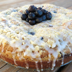 Moist Blueberry Muffin Cake