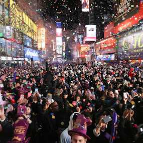 Celebration 2016 by VAM Photography - Public Holidays New Year's Eve ( new year, times square, places, new york, celebration, culture )