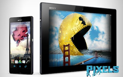 App XPERIA™ Pixels Theme APK for Windows Phone