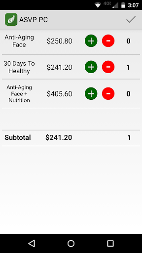Quick Calculator for Arbonne - screenshot