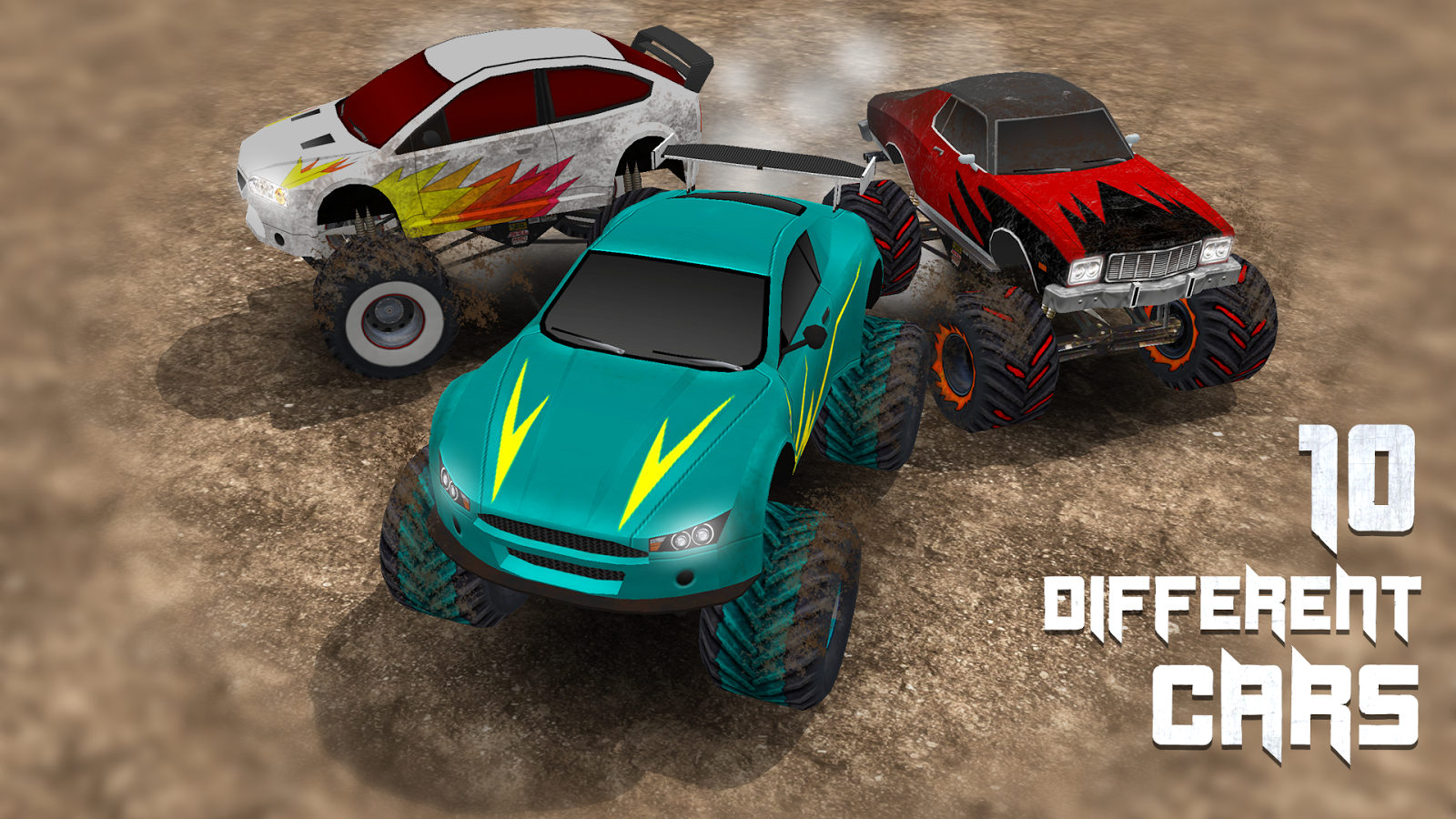 Monster Truck Race Screenshot 1