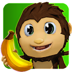 Monkey Paradise : epic banana Icon