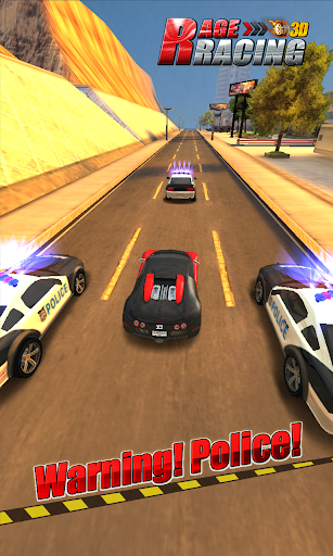 Rage Racing 3D - screenshot
