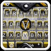 Download Steel tech keyboard APK for Laptop