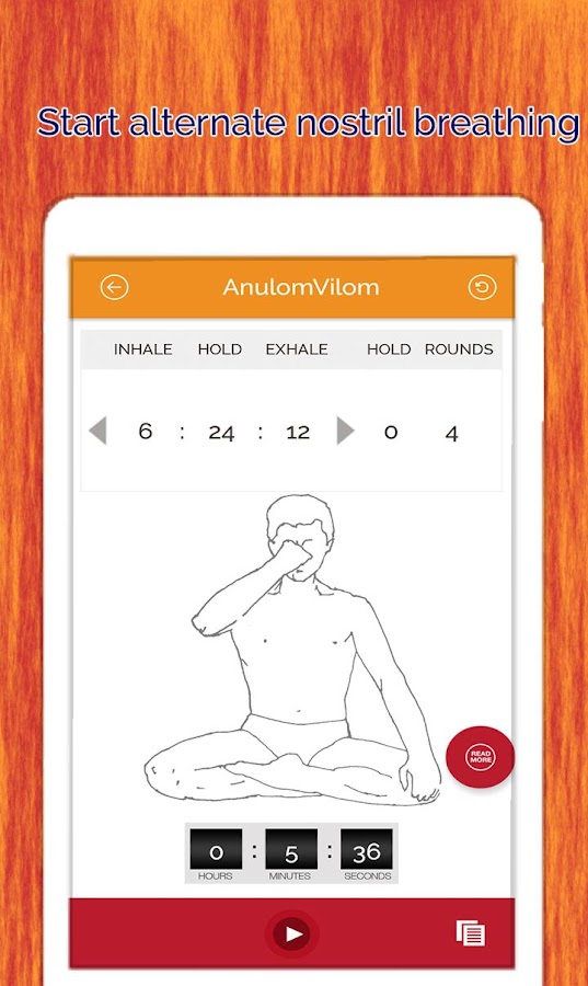 7pranayama yoga breath Relax Screenshot 19