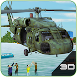 Army Helicopter Flood Relief 1.0.1 Apk