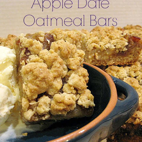 Baked Oatmeal Date Bars Recipes | Yummly