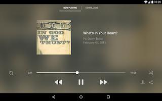 Screenshot of The Journey App