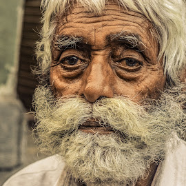 by Chittaranjan Bhat - People Portraits of Men (  )