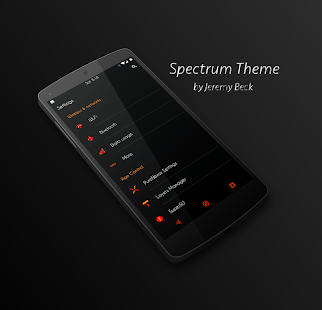 Spectrum - Layers Theme- screenshot thumbnail