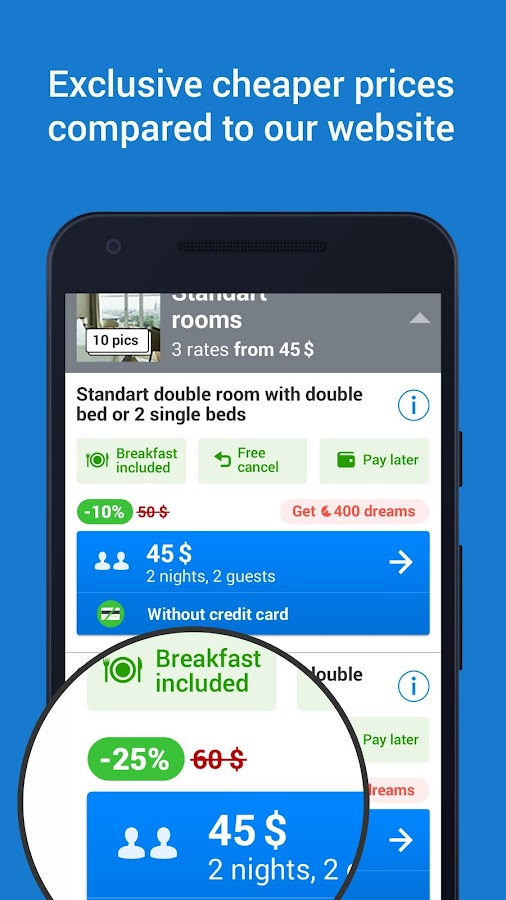 Ostrovok – Book a Hotel Screenshot 3