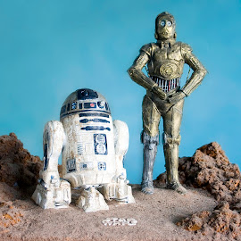 Star Wars characters 2 by Stephen Crawford - Artistic Objects Other Objects ( sculpture, sand, model making, star wars, replica )