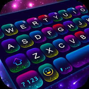 Twinkle Neon Keyboard Theme Online PC (Windows / MAC)