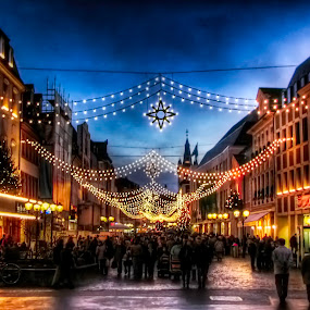 by Michael Rupp - Public Holidays Christmas ( market, christmas, germany, trier )
