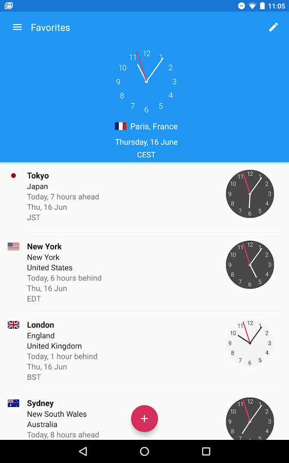 World Clock by timeanddate.com Screenshot 14