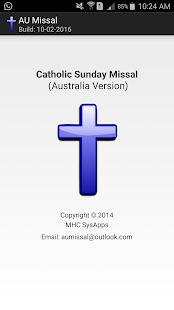 AU Sunday Missal - screenshot
