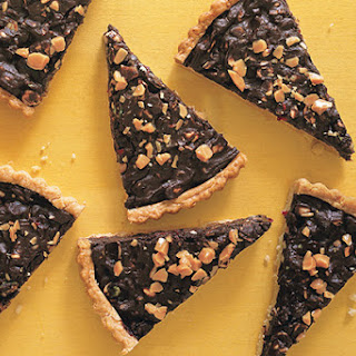 Chocolate Nut Tart With Dried Fruit Recipes