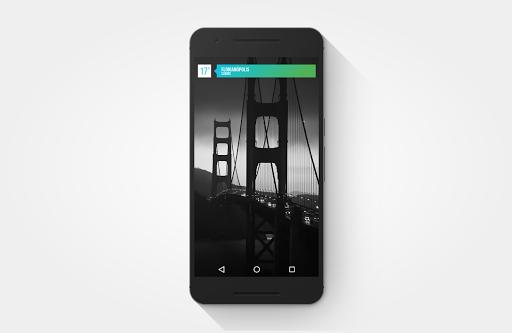 Gradient Zooper Theme - screenshot