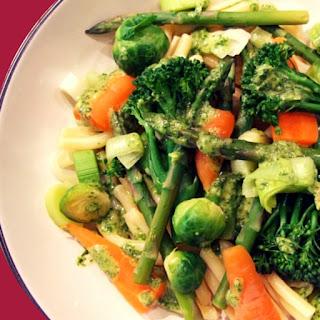 Steamed Vegetables Pasta Recipes