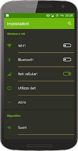 Bamboo Dark CM Theme - screenshot
