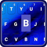 Liquid SkyBlue Emoji keyboard 1.2 Apk