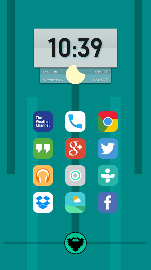 Matte UI Icon Pack Screenshot