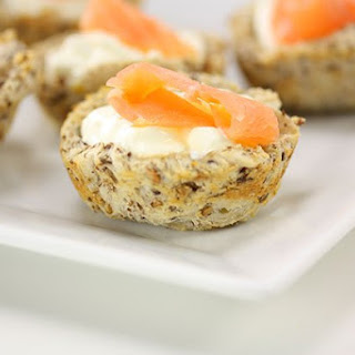 Smoked Salmon & Chive Baskets