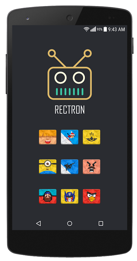 Rectron Icon Pack Screenshot 3