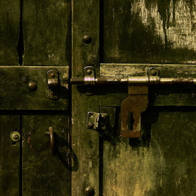 Unlocked by Rupam Chakraborty - Buildings & Architecture Other Exteriors ( abstract, exteriors, door )
