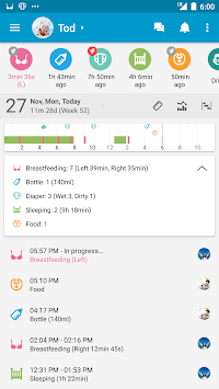 Baby Daybook - Daily Tracker APK screenshot thumbnail 1