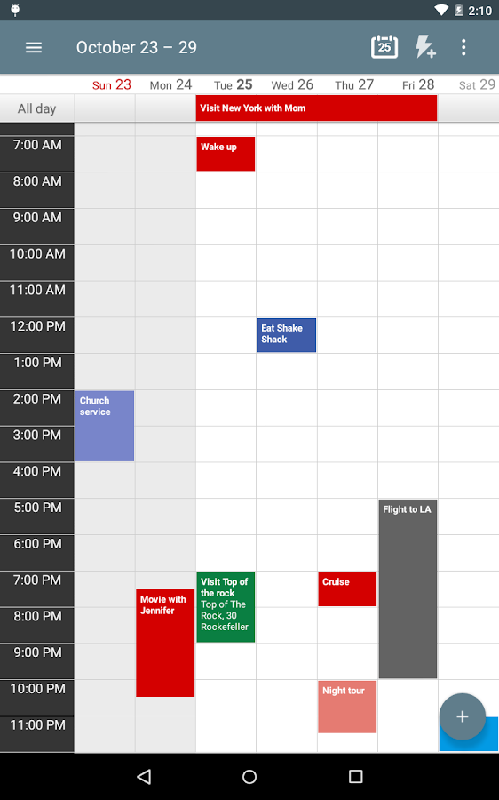 Calendar+ Schedule Planner Screenshot 12