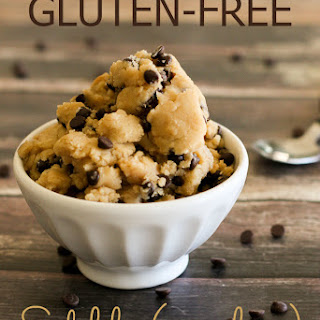 Gluten Free Edible Cookie Dough (egg-less)