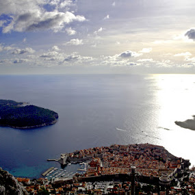 Dubrovnik classic by Boris Jakesevic - Travel Locations Landmarks ( dubrovnik, lokrum, croatia, old town, landscape, island )