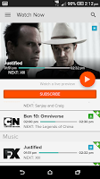Screenshot of Mobile FOXTEL