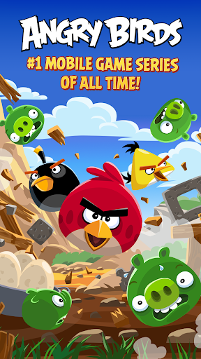 Angry Birds Classic screenshot 1