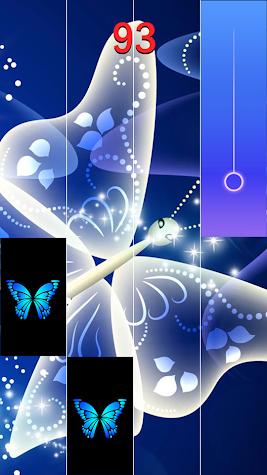 Blue Butterfly Piano 2019 Screenshot