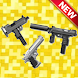 Guns Mod for Minecraft (MCPE)
