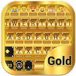 Gold Emoji Keyboard Theme APK