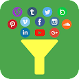 Social Media Apps In One APK Version 1.0