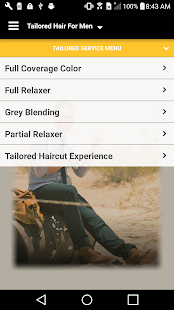 Tailored Hair For Men - screenshot