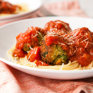 Spinach and Ricotta Vegetarian Meatballs