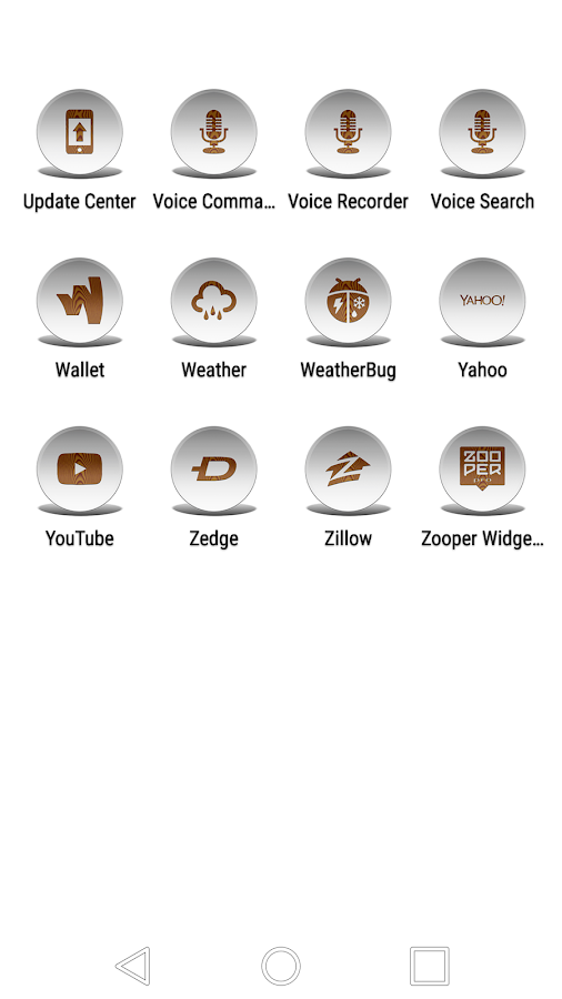 Daf White Wood - Icon Pack Screenshot 5