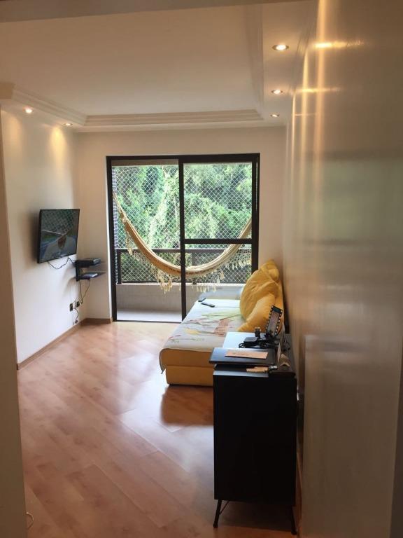 Apartamento residencial para venda e locação, Vila Indiana, São Paulo.