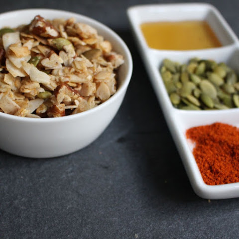 Spicy Maple Pepita Granola