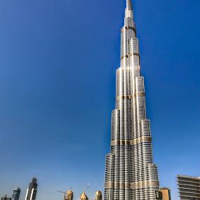 The Burj Khalifa by Darren Tan - Buildings & Architecture Office Buildings & Hotels